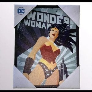 NEW DC Wonder Woman Canvas